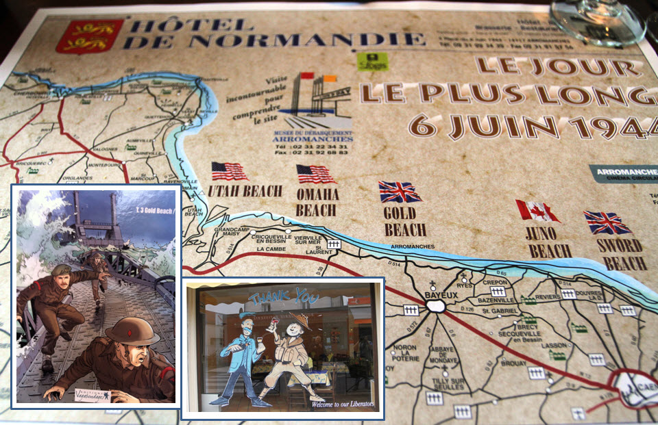 Normandy collage