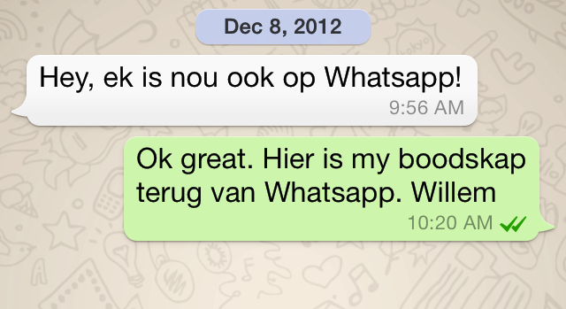 Wednesday/ what's the next WhatsApp? – Willem's Planet