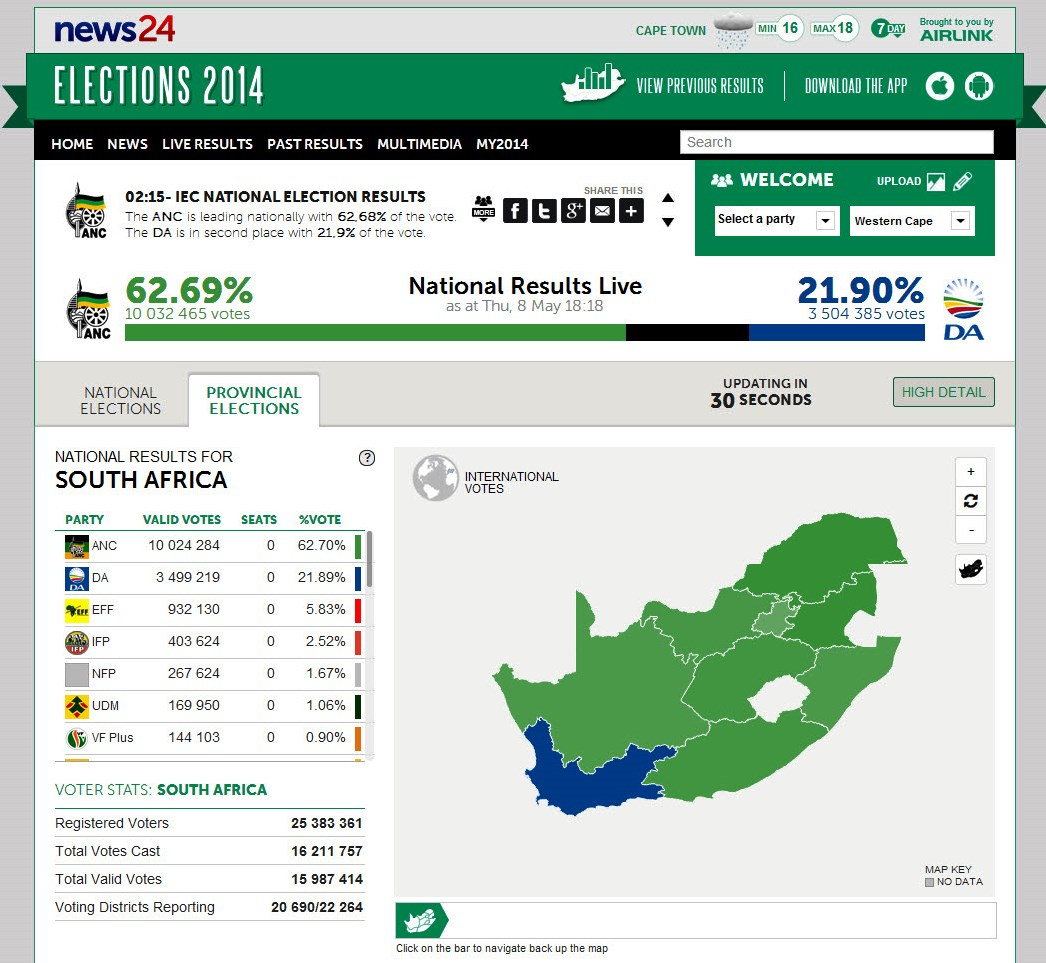 South Africa Elections sm