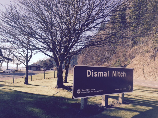 I like the name 'Dismal Nitch'. This is the last stop on the Columbia river before crossing over it into Oregon.