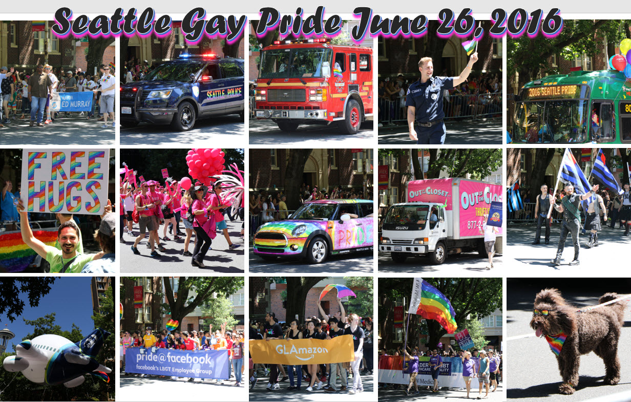 Seattle Pride 2016 2