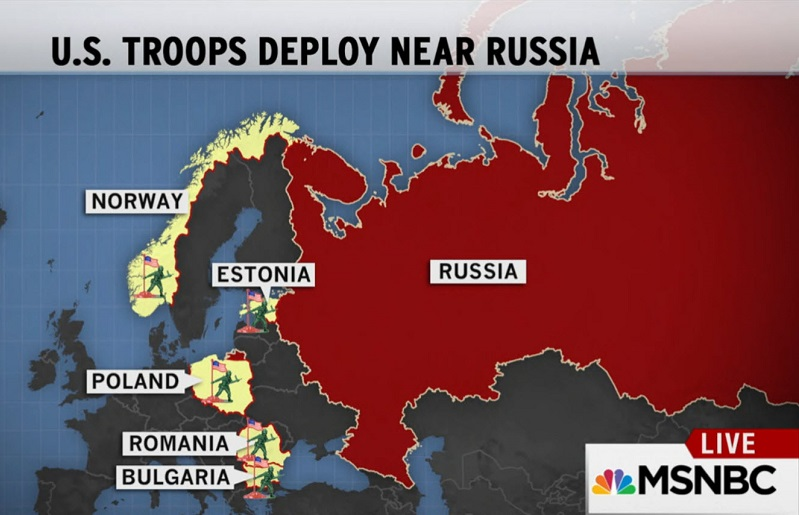 Tuesday US Troops To Norway Eastern Europe Willems Planet - Norway on us map