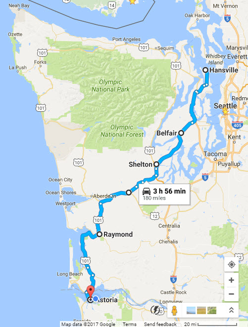 Tuesday/ drive down to Astoria – Willem's Planet
